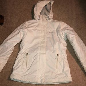 White Columbia Winter Coat